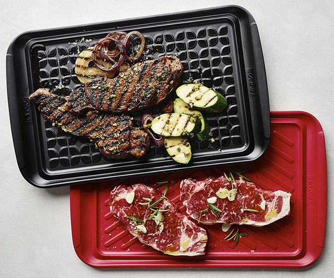 Tovolo Prep and Serve - Nesting Grill Prep Trays