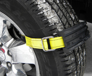 Trac-Grabber - Strap-On Tire Traction Blocks