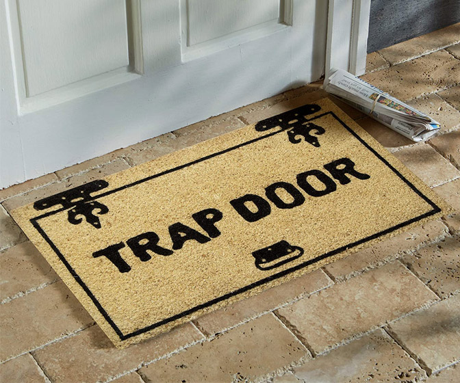 Trap Door Door Mat