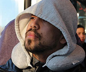 Travel HoodiePillow - Hooded Travel Pillow
