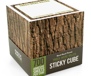 Trees Were Killed - Sticky Note Cube
