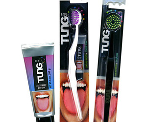 TUNG Brush - Licks Bad Breath and Tongue Gunk!