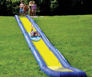 Turbo Chute - World's Longest Backyard Water Slide