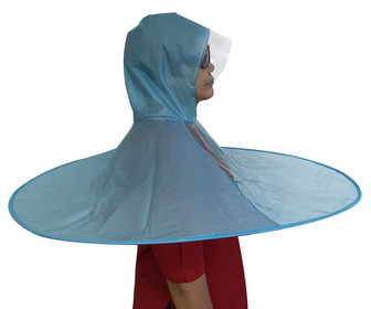 UFO Raincoat / Umbrella