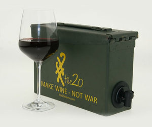 US Army Ammo Case For Boxed Wine