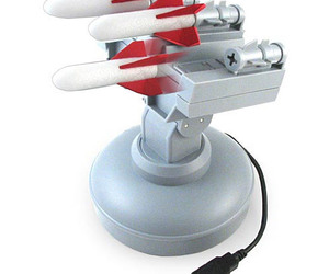 USB Missile Launcher - Computer Controlled Desktop Warfare!