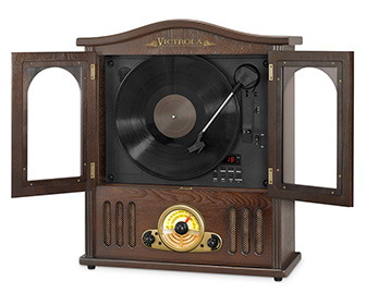 Vertical Victrola Turntable
