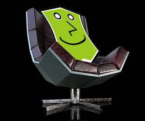The Villain Chair - The Ultimate In Evil Luxury Seating