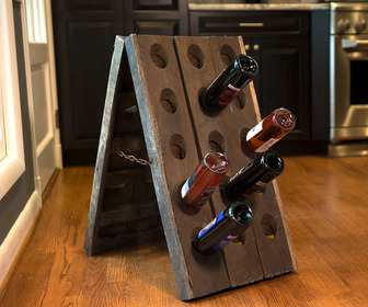 Vintage 30 Bottle Riddling Rack