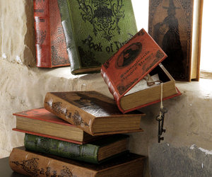 Vintage Halloween Book Boxes