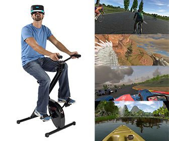 VirZOOM - Virtual Reality Exercise Bike