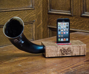 Volta - Natural Acoustic Sound Block Amplifier for iPhone
