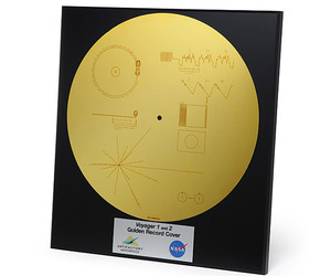 Voyager 1 and 2 Golden Record Replica