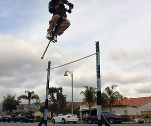 Vurtego - Ultimate Highest Jumping Pogo Stick