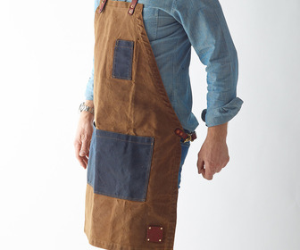 Waxed Canvas Utility Apron