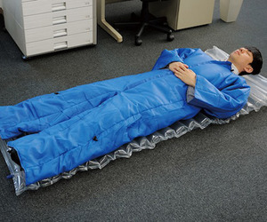 Wearable Air Mattress / Sleeping Bag Suit
