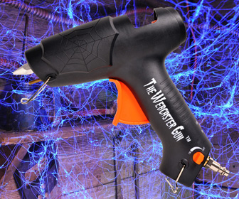 Webcaster Gun - Creates Highly Realistic Halloween Cobwebs