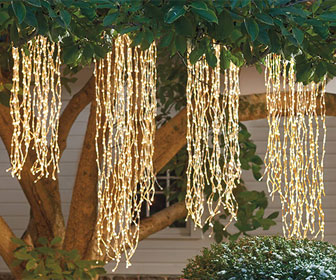 Weeping Willow String Light Strands