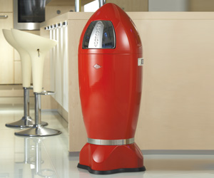 Wesco Spaceboy XL - Rocket Ship Trash Can