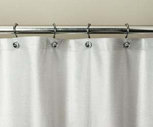 Wet Look Shower Curtain