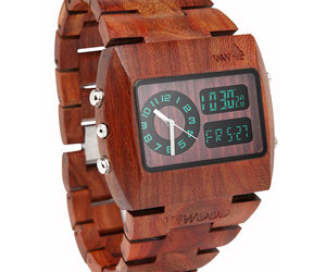 WeWood Chrono - 100% Natural Wood Watch