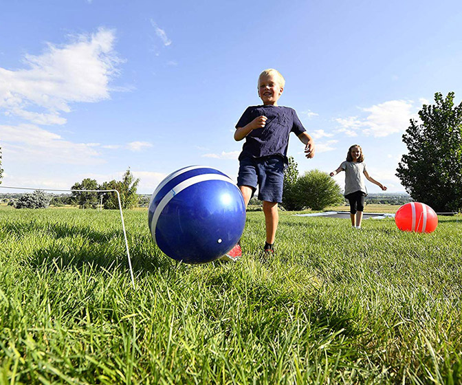 Wicket Kick - Giant Inflatable Kickball Croquet Set