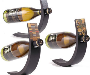 Wine Arc - Balancing Wine Bottle Display