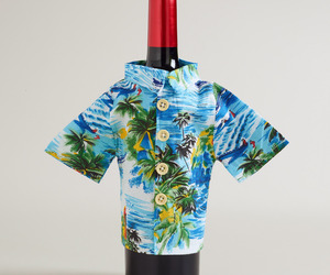 Wine Bottle Hawaiian Shirt