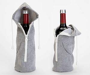 Wine Bottle Hoodie Sweatshirt