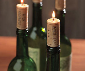 Wine Cork Candles (Set of 12)