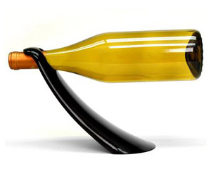 Wine Horn - Balances a Wine Bottle Horizontally