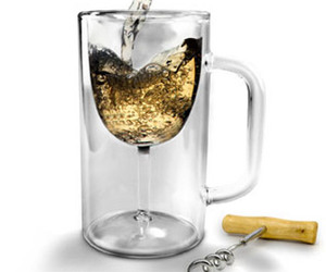 Winestein - Beer and Wine Mug