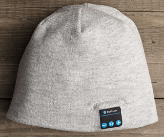 Wireless Beanie With Bluetooth Earphones and Microphone