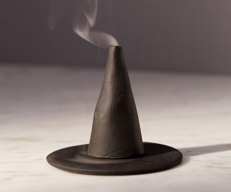 Witch Hat Incense Holder