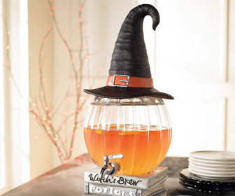 Witch's Brew Pumpkin Dispenser