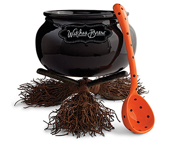 Witch's Brew Serving Cauldron