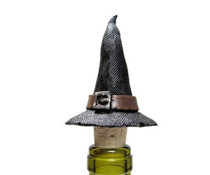 Witch's Hat Wine Bottle Stopper