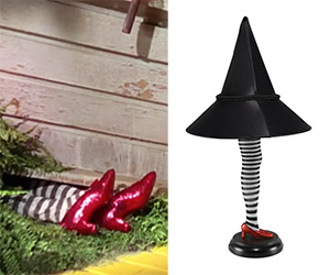 Wizard of Oz Wicked Witch of the East Leg Lamp