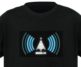 Working Wi-Fi Detector Shirt