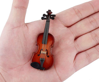The World's Smallest Violin