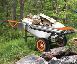 WORX AeroCart - Multi-Function Wheelbarrow, Dolly, and Cart