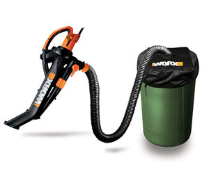 WORX TriVac - Blower / Mulcher/ Yard Vacuum with Leaf Collection System