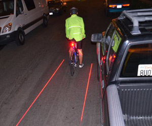 X-Fire - Bicycle Laser Lane Marker