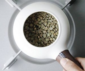 ZenRoast - Ceramic Coffee Bean Roaster