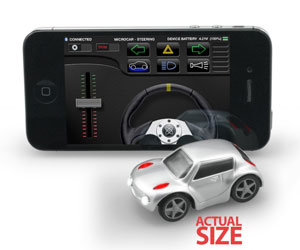 ZenWheels - iPhone-Controlled Micro Cars