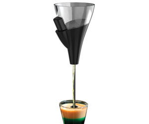 Zevro Gravity Release Jigger - Creates Perfect Layered Drinks