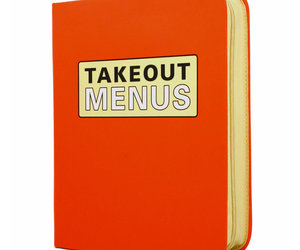 Zippered Take Out Menu Organizer
