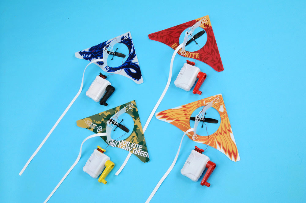 Homekite powered indoor kite the green head for Indoor kite design