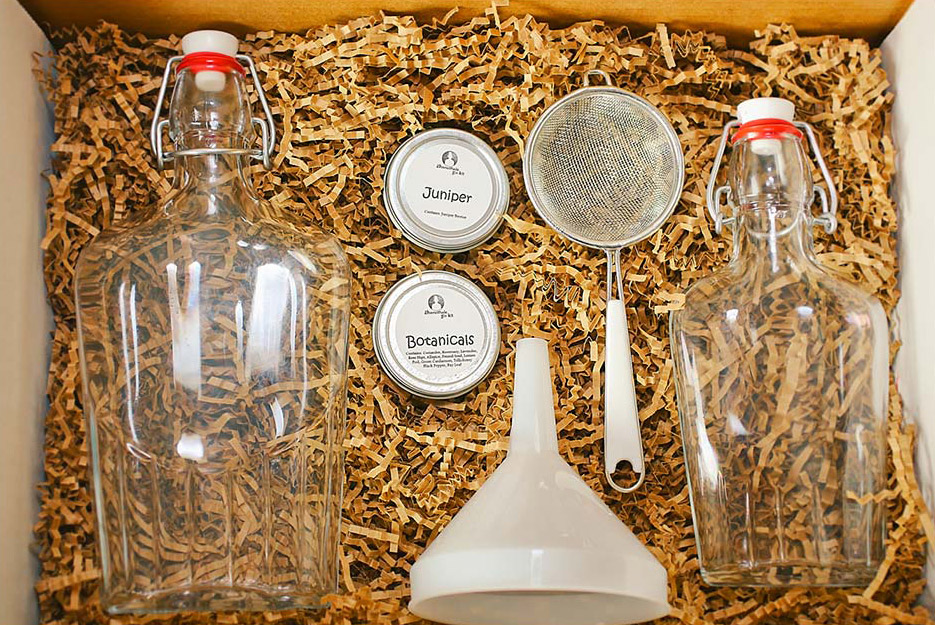 Homemade Gin Kit - The Green Head