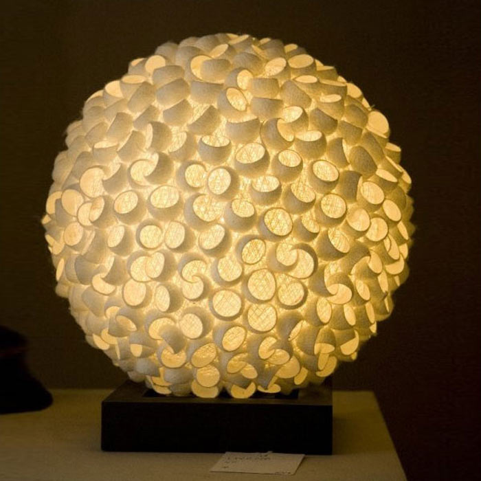 Lovely Honeycomb Table Lamp